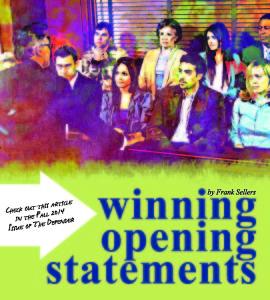 Winning opening statements teaser