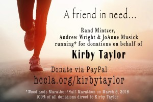 kirby taylor donations running