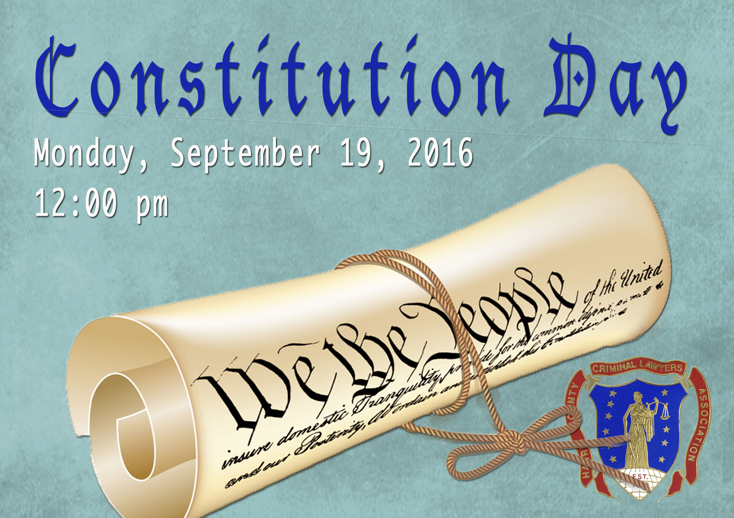 Constitution Day is September 17 2018 Celebrate the ratification of the US Constitution The Constitution of the United States of America is the supreme law of